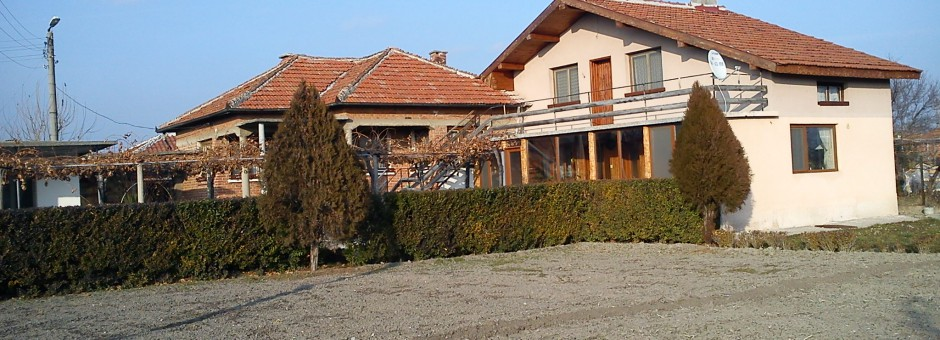 Three Houses with Big Plot of Land, near Yambol